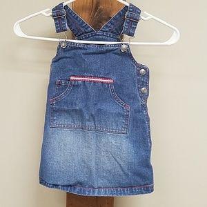 Girl's jean dress